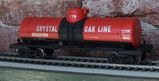 Crystal Car Line Tank Car