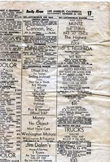 1945年の新聞が詰め物として入っていた。