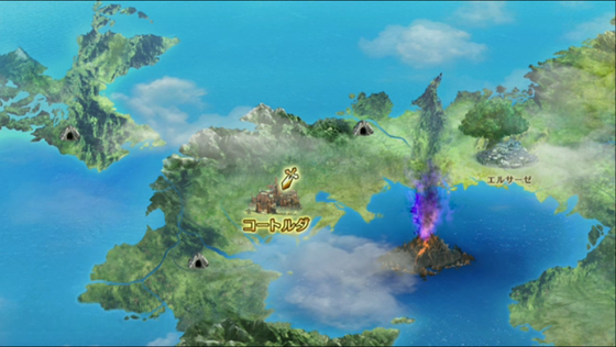 DQHワールドマップ