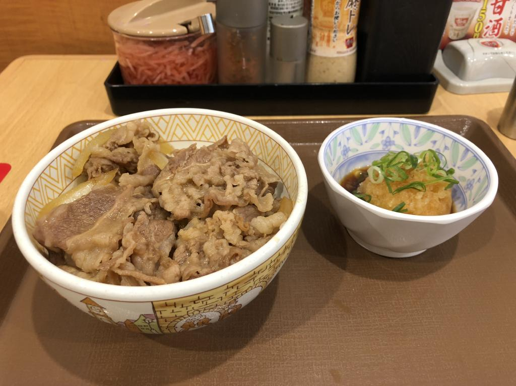 ポン酢 牛 丼 おろし
