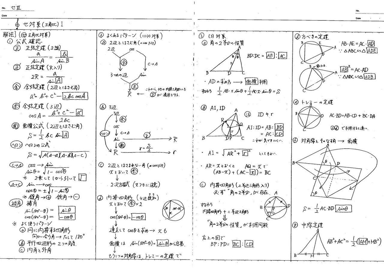 図形問題へのアプローチ 3 怜悧玲瓏 高校数学を天空から