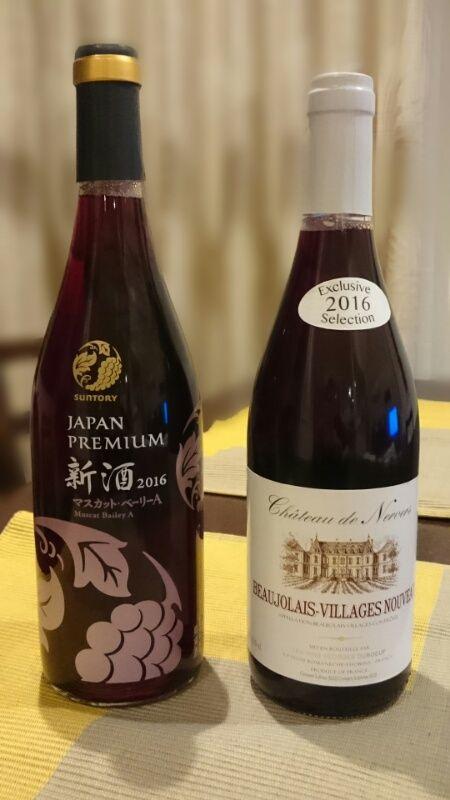 日本ワイン新酒_ボジョレーヌーヴォー
