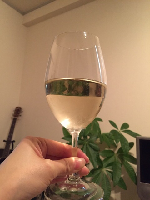 日本ワイン_甲州鳥居平畑プライベートリザーブ_グラス