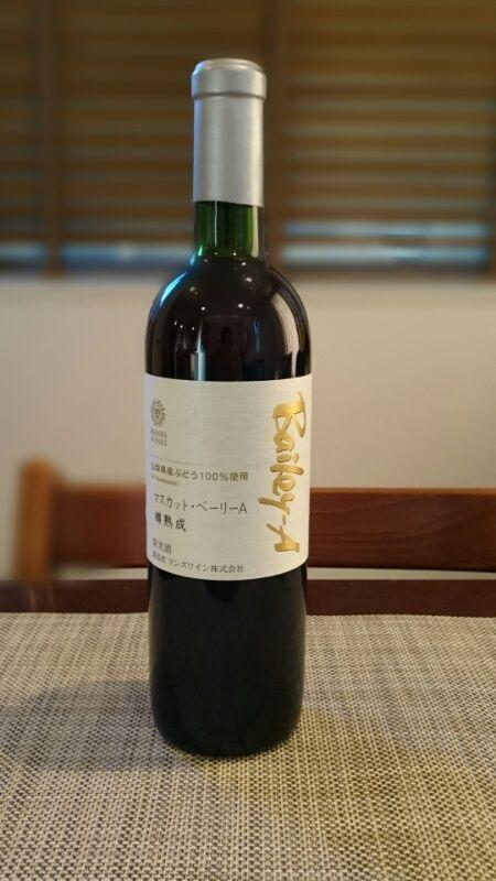 日本ワイン_マンズマスA樽熟成