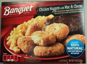 Chicken nugget meal