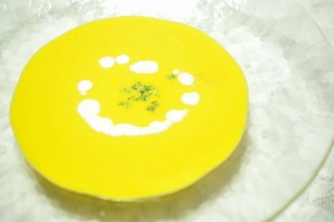 かぼちゃの冷製スープ (28)