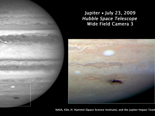 木星に、小惑星?彗星?? 衝突か !?
