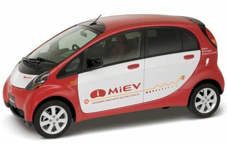 三菱 アイスランド政府との電気自動車の共同実証試験について