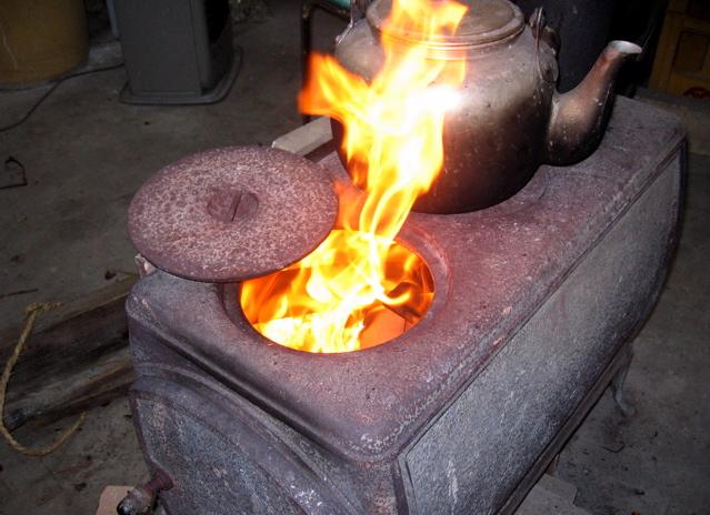 炎とともに、、、、。