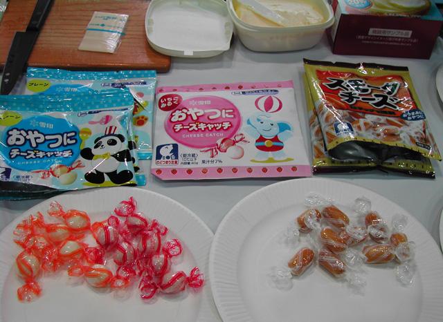 食品見本市2009春 その4 スナック菓子 そこにしか咲かない花、、、、。