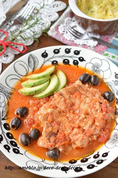 チキンのトマト煮2