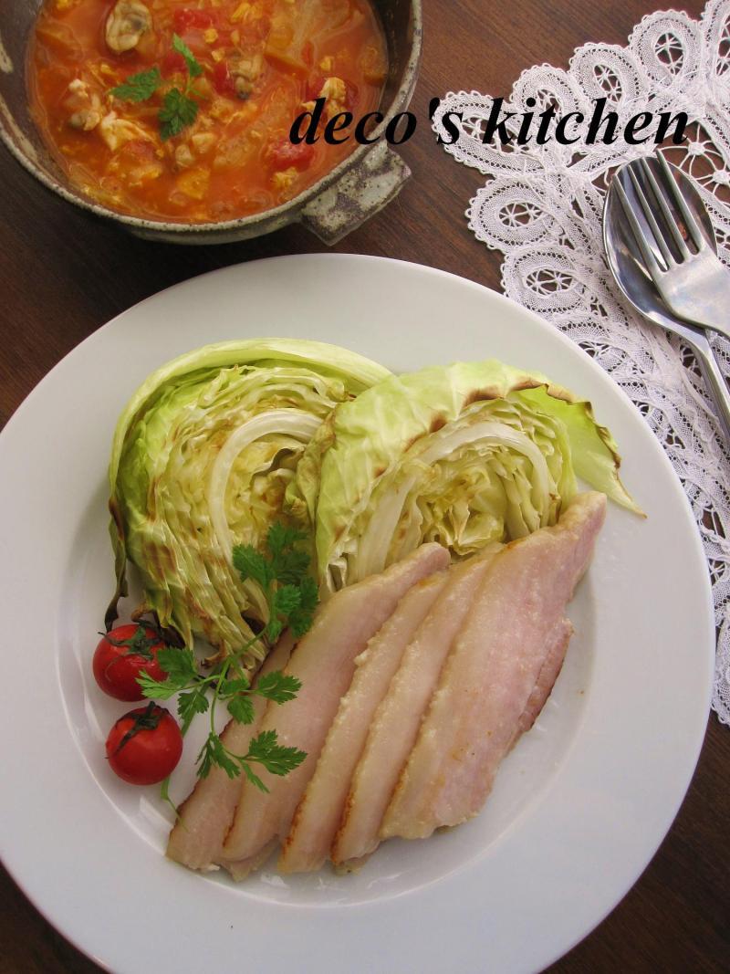 decoの小さな台所。-塩麹漬け豚肉のロースト1