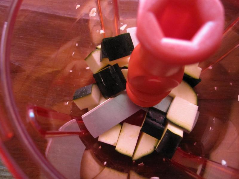 decoの小さな台所。-ツナとズッキーニのお豆腐ソース7