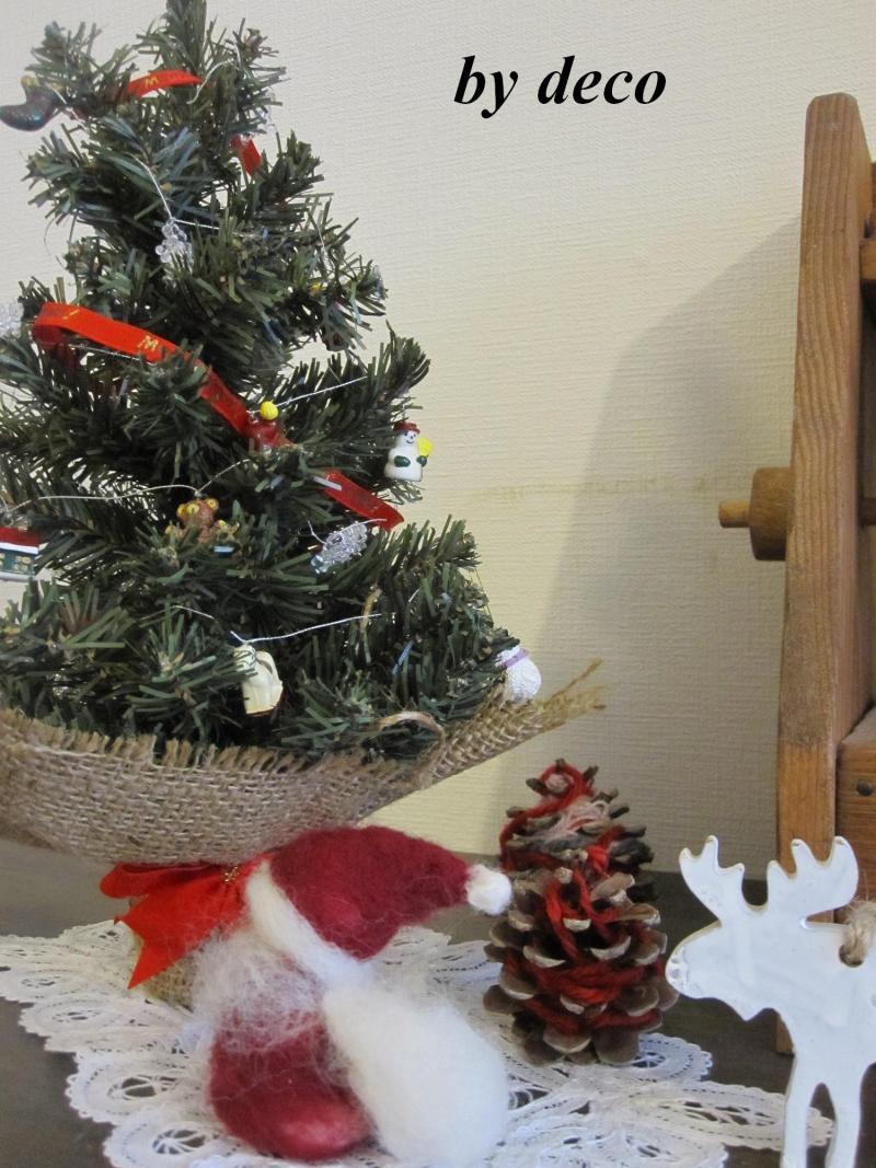 decoの小さな台所。-クリスマスの飾り2