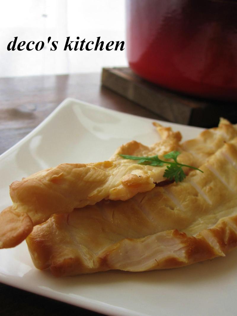 decoの小さな台所。-ささみ燻製3