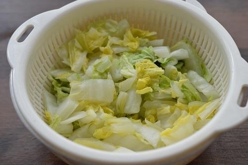 白菜ナムル工程3