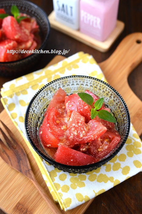 トマトサラダ (4)