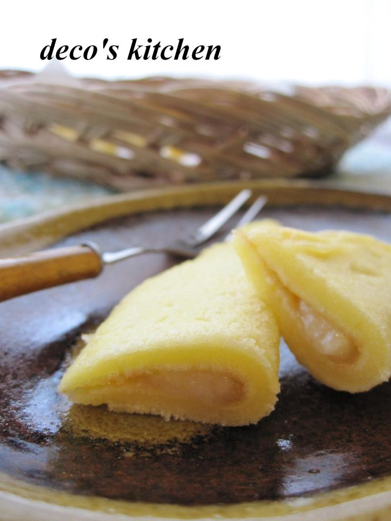 decoの小さな台所。-バナナな和菓子4