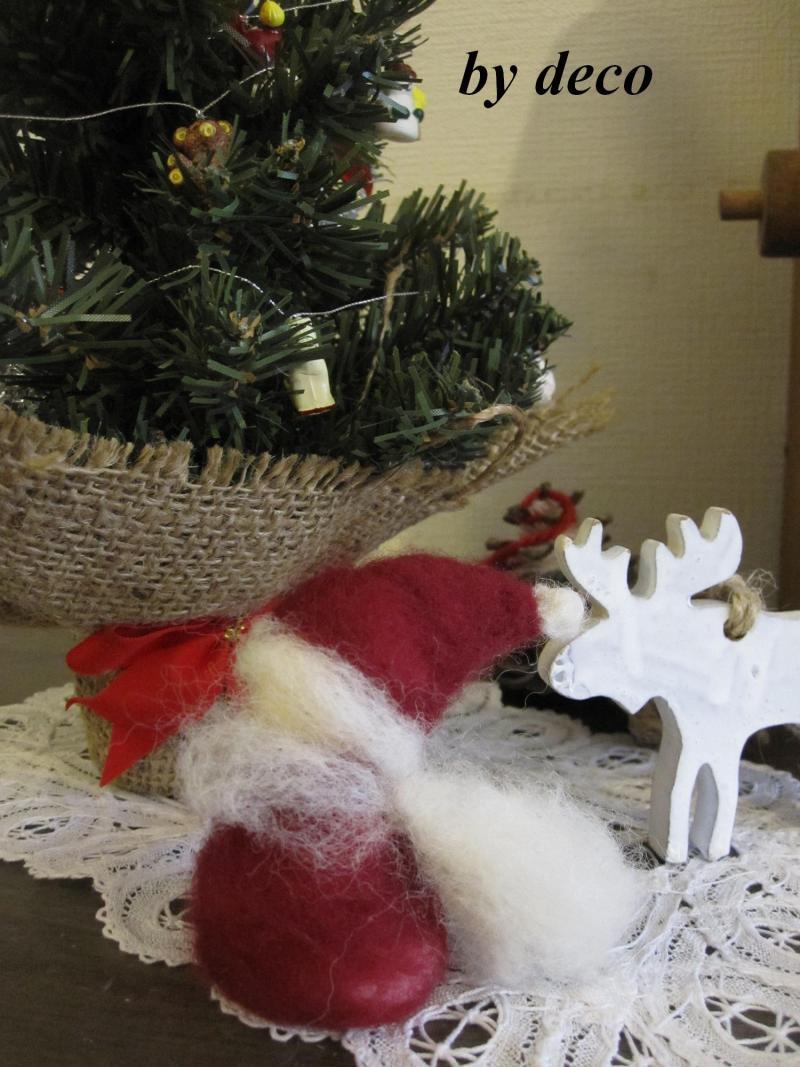 decoの小さな台所。-クリスマスの飾り3