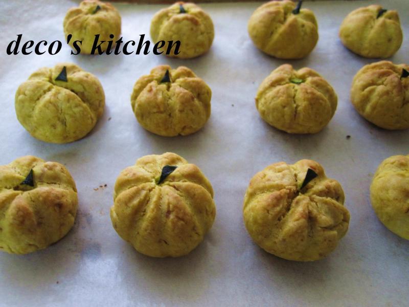 decoの小さな台所。-丸ごとかぼちゃクッキー14