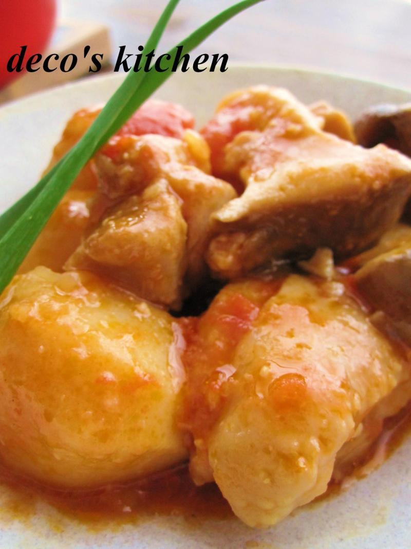 decoの小さな台所。-生姜トマト味噌煮込み弁当7