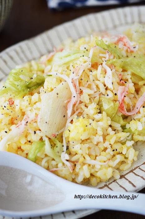 レタス炒飯10