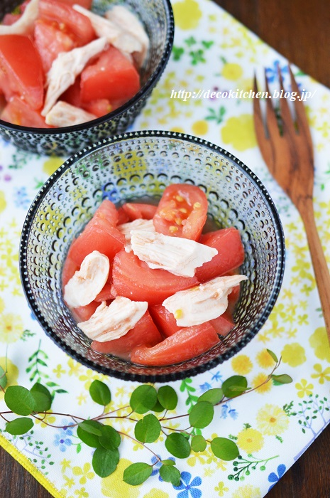 トマトのマリネ2