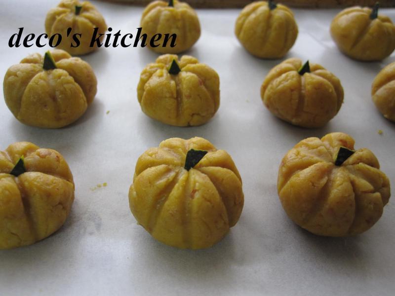 decoの小さな台所。-丸ごとかぼちゃクッキー13