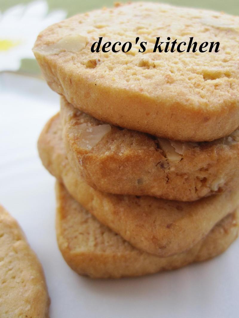 decoの小さな台所。-白味噌とくるみのミルクバタークッキー5