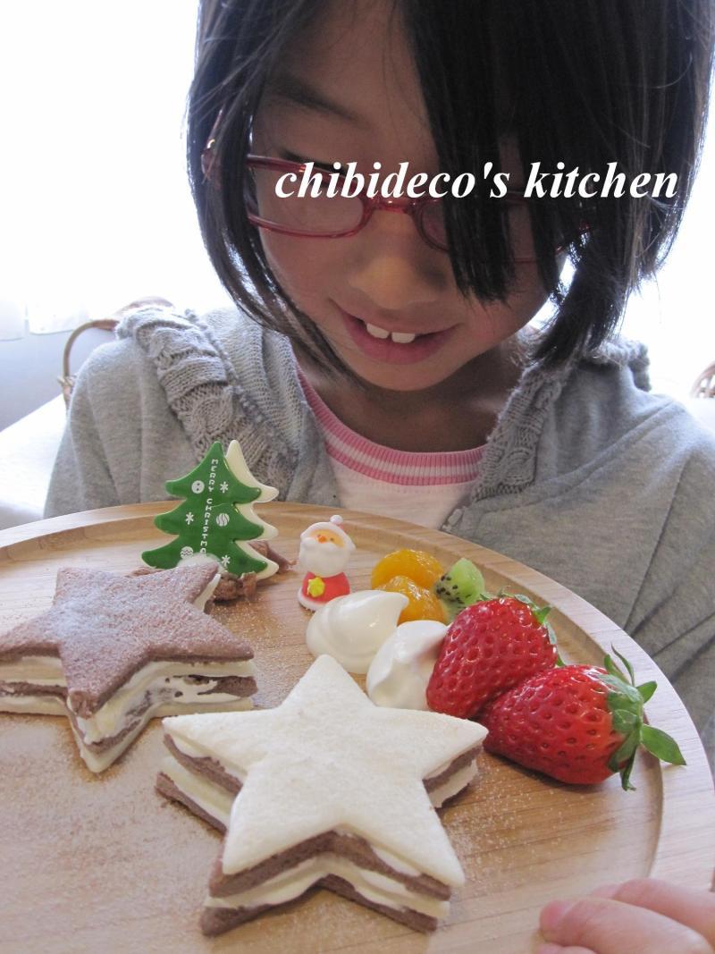 decoの小さな台所。-ちびdecoとケーキ6