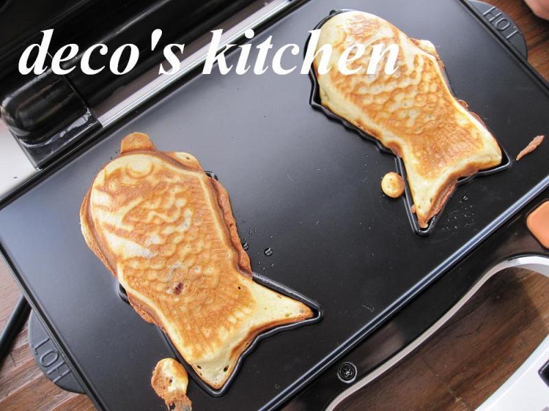 decoの小さな台所。-鯛焼き作り4
