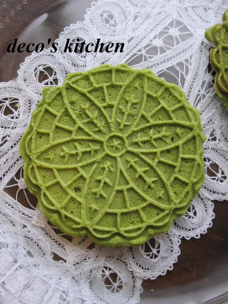 decoの小さな台所。-抹茶ピッツェル3