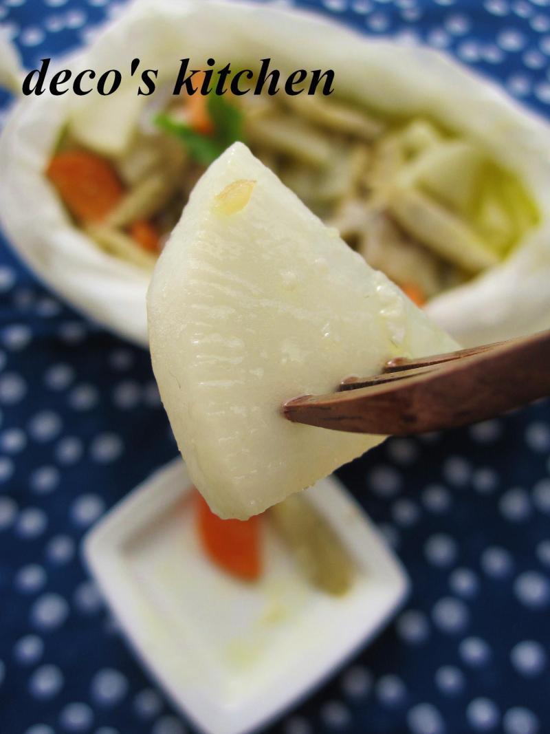根菜の和風アヒージョ9