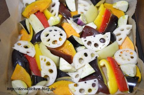 グリル野菜工程1