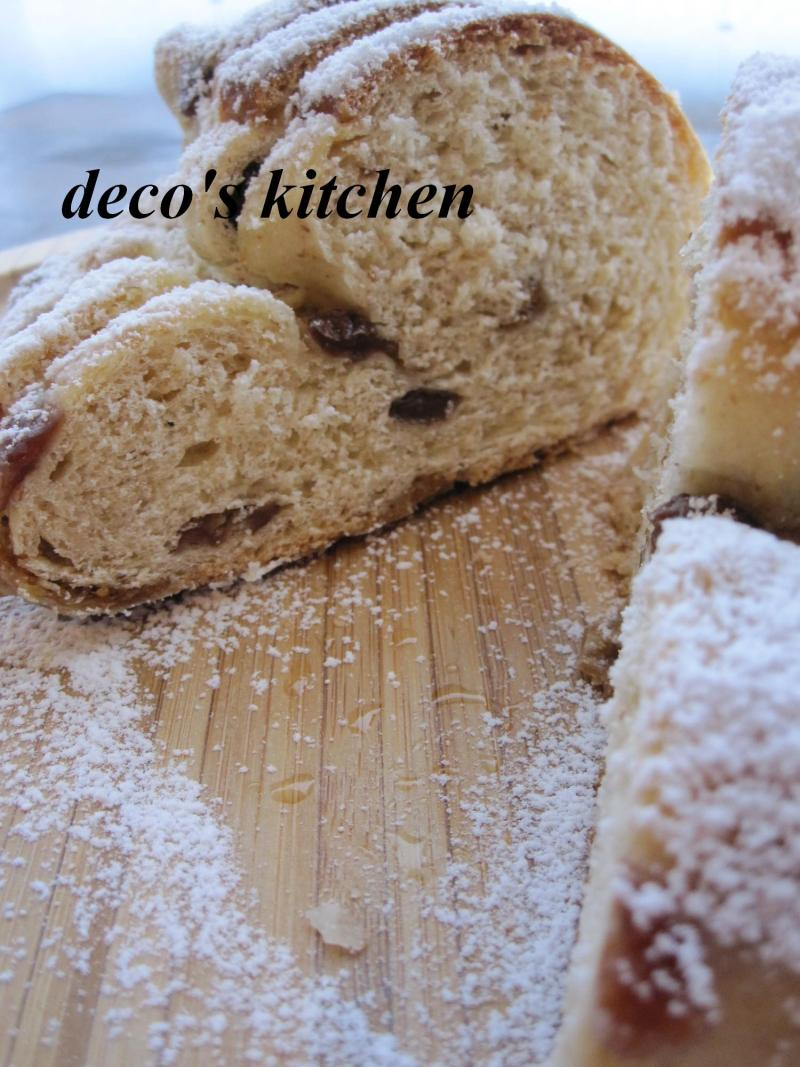 decoの小さな台所。-失敗したシュトーレン