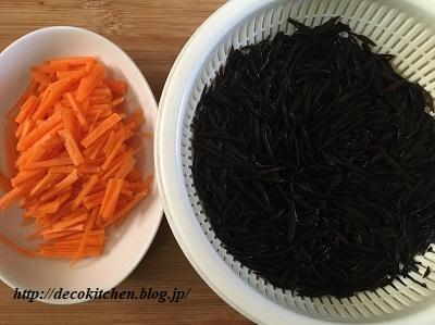 ひじき煮工程2