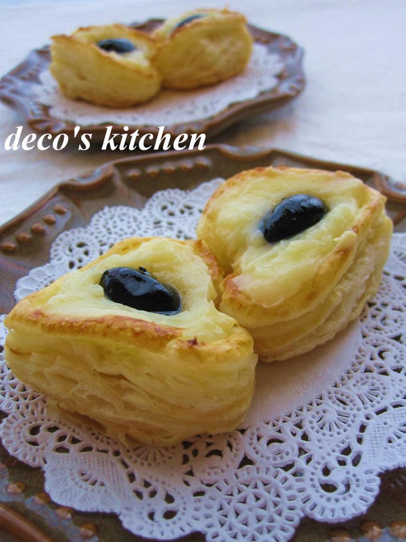 decoの小さな台所。-ジンジャーチーズクリームぷちパイ4