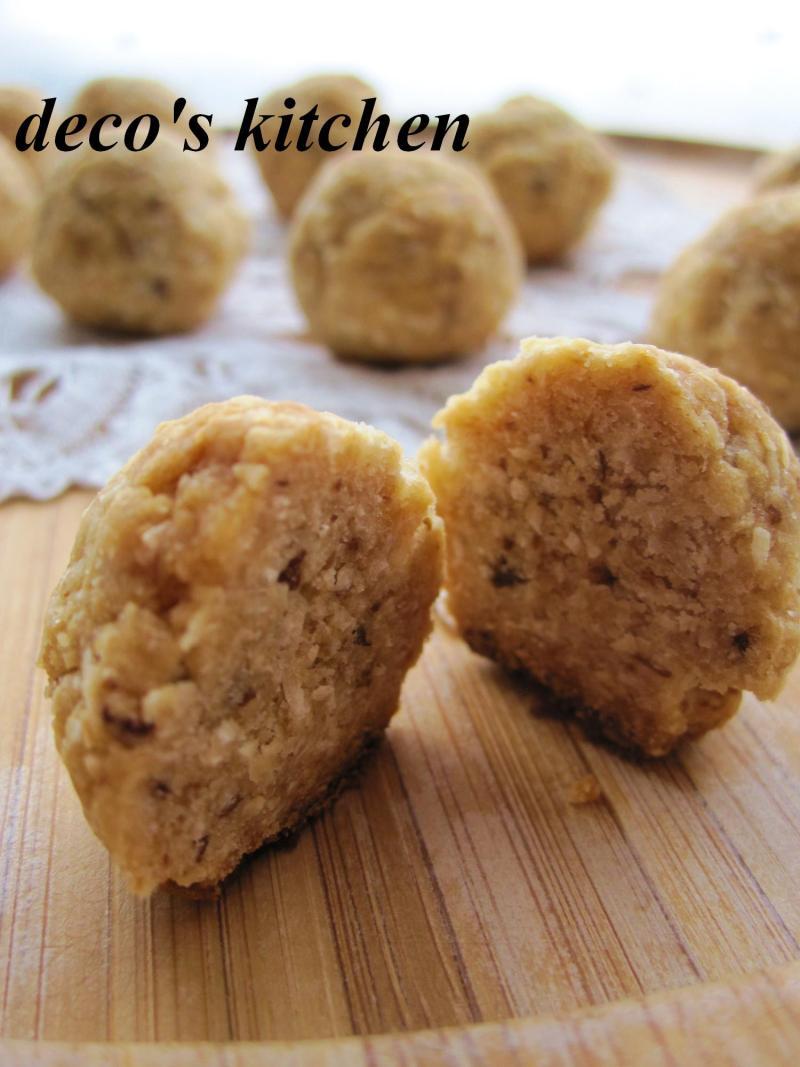 decoの小さな台所。-プルーン塩ココナッツクッキー6