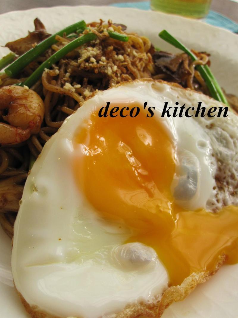 decoの小さな台所。-レッドカレー焼きそば8