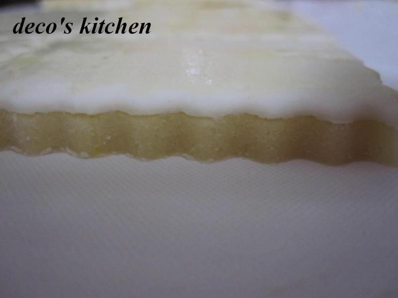 decoの小さな台所。-パイのせレモンクッキー5