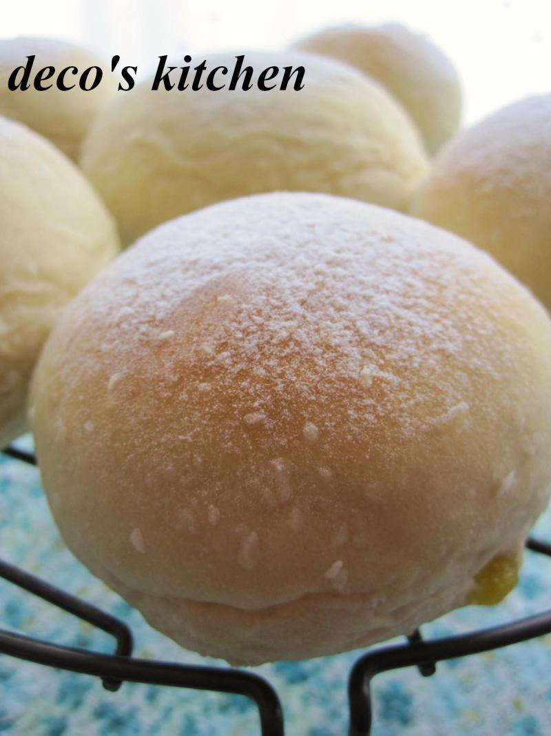 decoの小さな台所。-ココナッツパイン白パン2