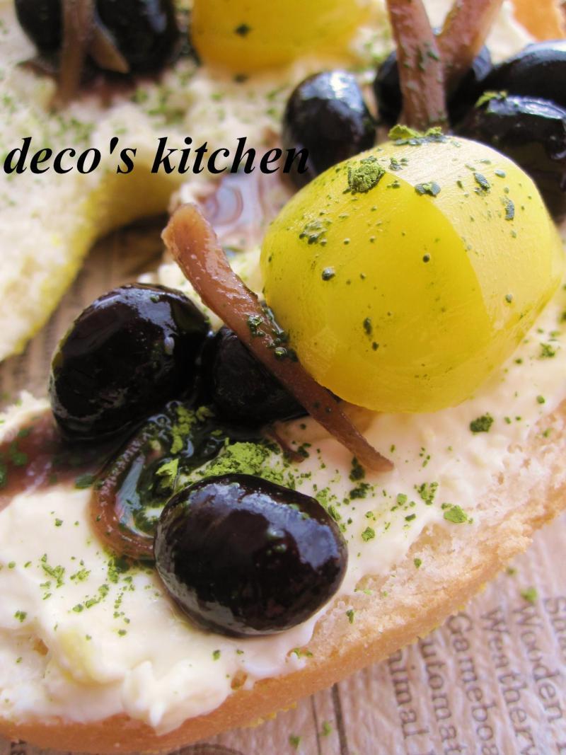 decoの小さな台所。-はちみつジンジャークリチと黒豆のサンド5