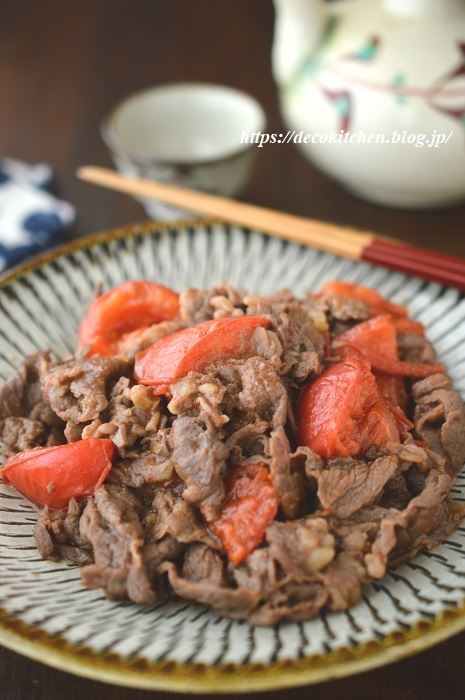 牛肉トマト5