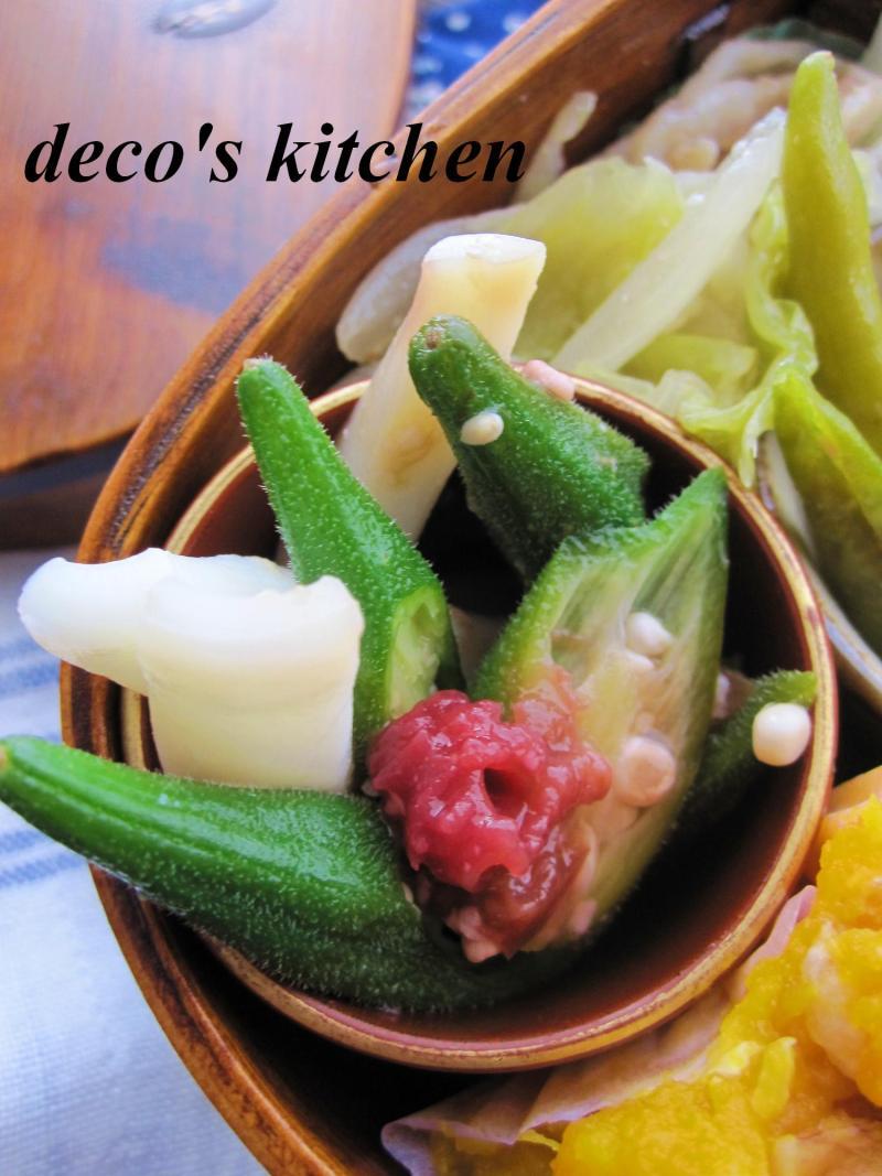 decoの小さな台所。-豚肉とひもとうがらし炒め弁当4