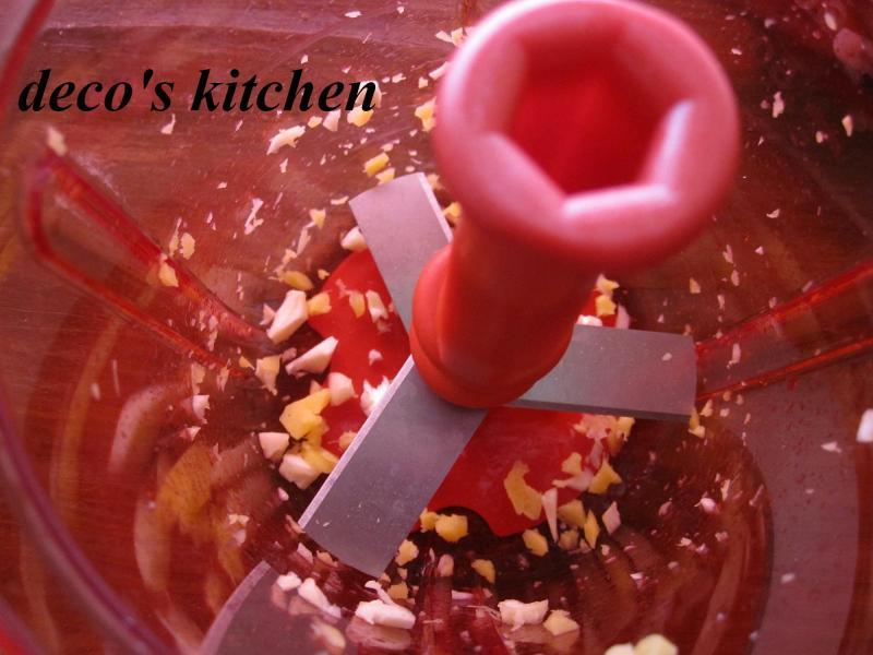 decoの小さな台所。-ポパイな鶏そぼろご飯8