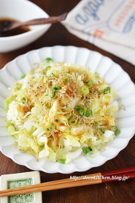 白菜サラダ6