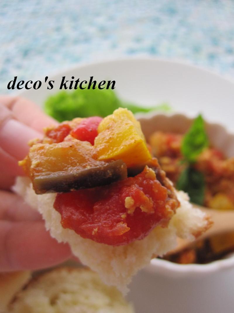 decoの小さな台所。-ルクエパンでカフェ風ランチ7