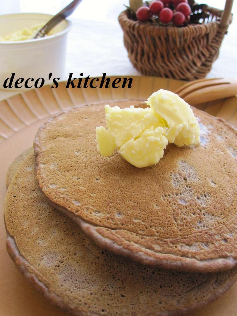 decoの小さな台所。-チョコバナナパンケーキ3