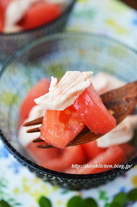 トマトのマリネ7