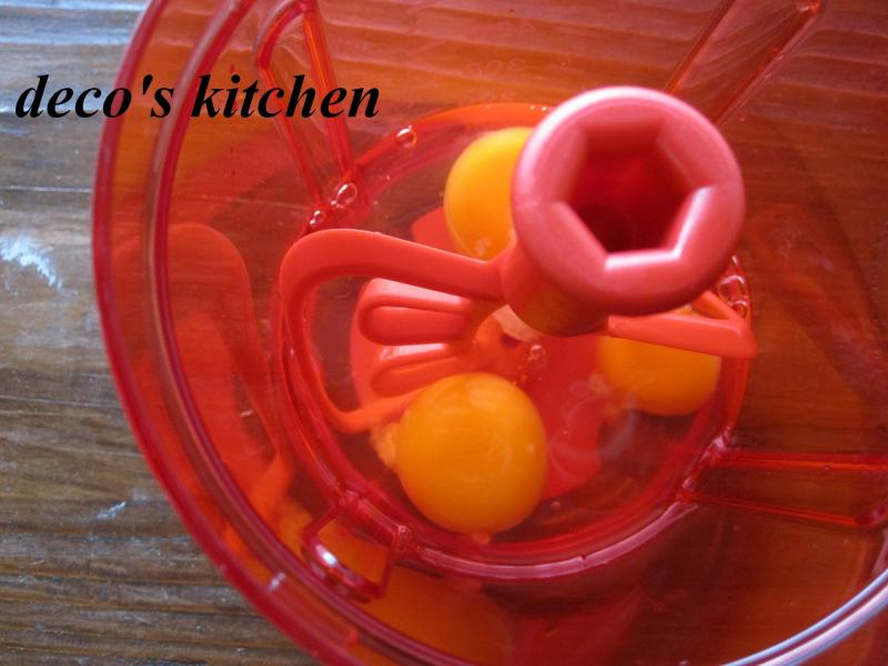 decoの小さな台所。-ポパイな鶏そぼろご飯5